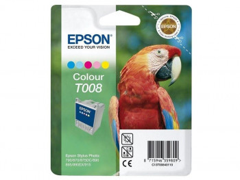 CARTUCHO EPSON T008 C13T00840110 COLOR ORIGINAL