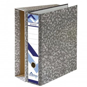 ARCHIVADOR A-Z ELITTE GRIS FOLIO 75MM + CAJA   ( PACK )