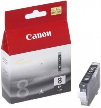 CARTUCHO CANON  CLI-8BK INYECCION TINTA NEGRO 13ML BLISTER+AL