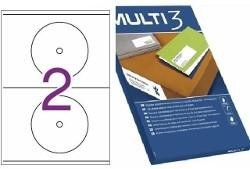ETIQ. INKJET MULTI3 CD 2H 170MM (100U) REF APLI 10816