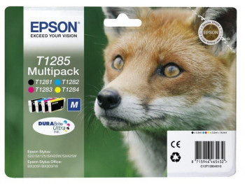 CARTUCHO EPSON MULTIPACK T1285  REF. C13T12854010
