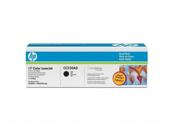 TONER HWP CC530AD - 2 PACK