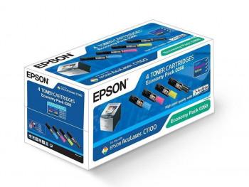 FA EPSON PACK DE 4 TONER DE COLORES, REF. C13S050268