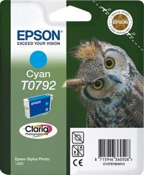 CARTUCHO EPSON T0792 CYAN