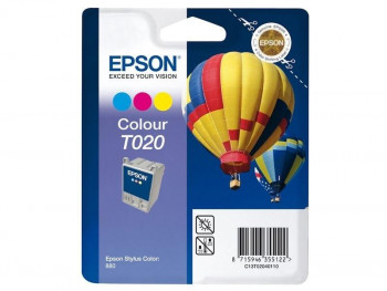 CARTUCHO EPSON C13T02040110 STYLUS 880/880T COLOR ORIGINAL