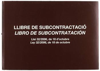 LIBRO DE SUBCONTRATACIÓN EN CASTELLANO MIQUELRIUS A4 APAISADO