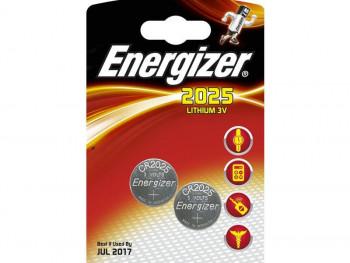 PILAS CR2025 ENERGIZER REF. UNI CR2025