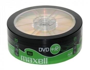 DVD+R 4,7GB 16X SPINDLE (25UND)