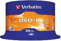 TARRINA DVD-R VERBATIM 16X 4.7GB 50UND