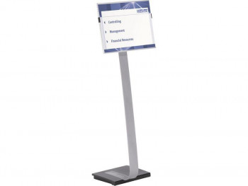 EXPOSITOR DURABLE INFOSIGN A3 METALICO BASE ANTIDESLIZANT