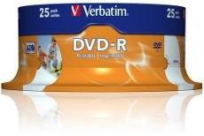 DVD-R Wide Inkjet 4,7 Gb 16x Imprimible