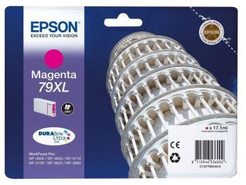 CARTUCHO EPSON 79XL MAGENTA 2600PAG WF4630/4640/5110/5190 REF. 444222355