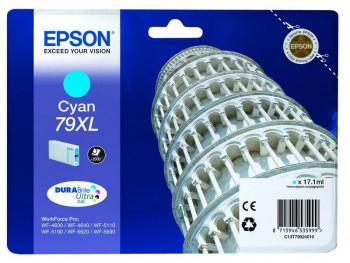 CARTUCHO EPSON 79XL CIAN 2600 PAG WF4630/4640/5110DW REF. 444222350