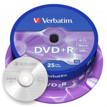 DVD-R VERBATIM MATT SILVER 4,7 GB 16X