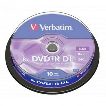 DVD-R VERBATIM MATT SILVER 8,5 GB 8X DOBLE CAPA