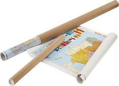 AD FAIBO MAPA DE ESPA  A Y PORTUGAL PLASTIFICADO SIN MARCO DIMENSIONES 103X129CM REF.153G