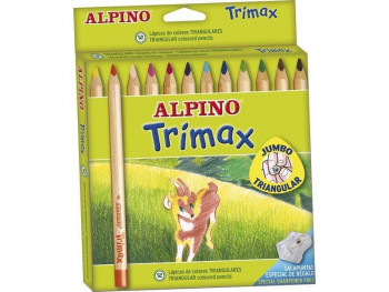 LAPICES ALPINO TRIMAX 12 U