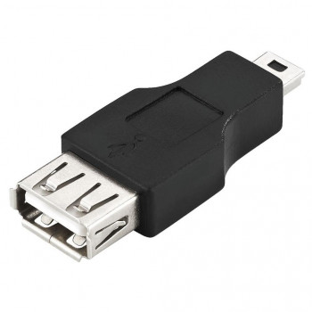 ADAPTADOR USB A H - USB MINI 5 PIN MACHO