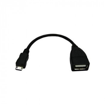 CABLE 3GO MICRO USB M USB A H 15CM OTG