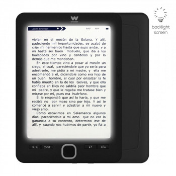 E-BOOK WOXTER SCRIBA 195 PAPERLIGHT NEGRO