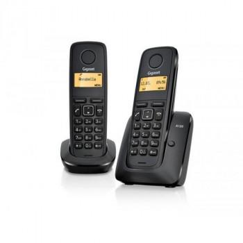 TELEFONO SIEMENS GIGASET DUO A120 NEGRO