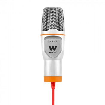 MICROFONO WOXTER MIC STUDIO BLANCO