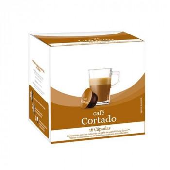CAPSULA CAFÉ CORTADO 16UND - PARA CAFETERAS DOLCE GUSTO