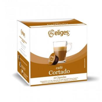CAPSULA CAFÉ CORTADO ELIGES 16UND - PARA CAFETERAS DOLCE GUSTO