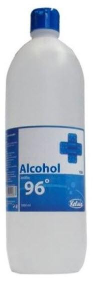 ALCOHOL ETILICO 96º 1 LITRO