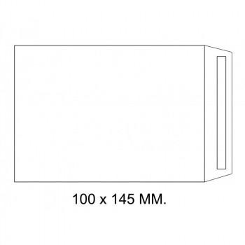 SOBRE BOLSA 100X145 AUTODEX OFFSET BLANCO (1000U)