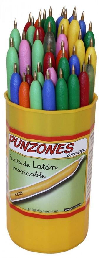 PUNZON LADO GRANDE PUNTA DE LATON