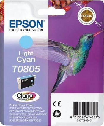 CARTUCHO EPSON T0805 CYAN CLARO