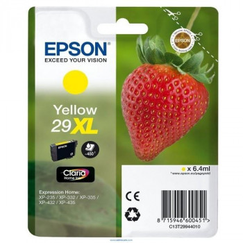 CARTUCHO EPSON 29XL AMARILLO ORIGINAL