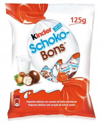 KINDER SCHOKO BONS 125GR