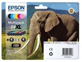 CARTUCHO EPSON 24XL MULTIPACK C13T24384021