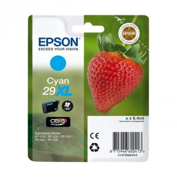 CARTUCHO EPSON 29XL CIAN ORIGINAL