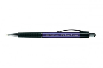 BOLIGRAFO FABER CASTELL GRIP PLUS BALL AZUL