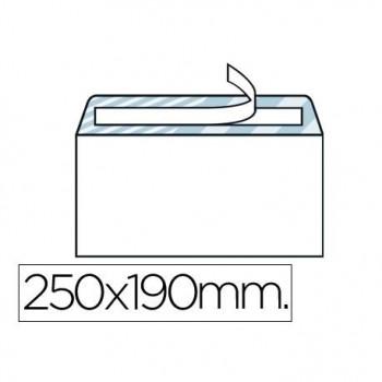 SOBRE 190X250 90GR SV AUTODEX 250UNDS BLANCO