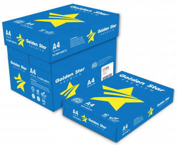 PAPEL GOLDEN STAR PREMIUM A4 BLANCO CALIDAD ALTA