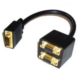 CABLE VGA DOBLE DB15M 2XDB15H