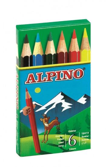 LAPICES ALPINO 651/6 CORTO