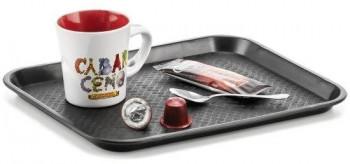 BANDEJA CAFE NEGRA PL1045010
