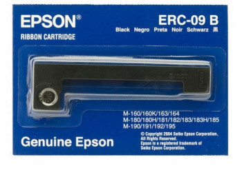 CINTA IMPRESORA TICKETS EPSON ERC-09B NEGRO