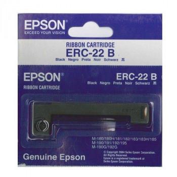 CINTA IMPRESORA TICKETS EPSON ERC-22B NEGRO