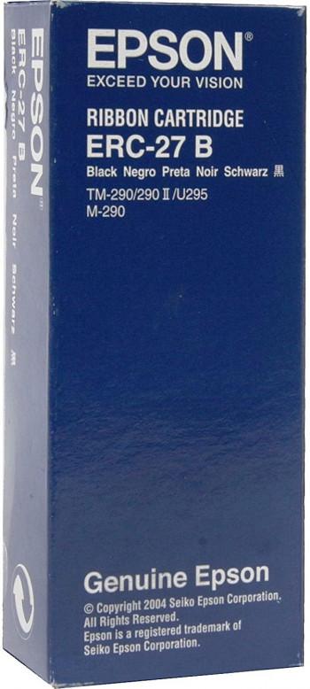 CINTA IMPRESORA TICKETS EPSON ERC-27B NEGRO