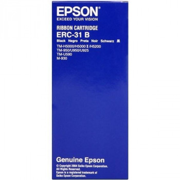 CINTA IMPRESORA TICKETS EPSON ERC-31B NEGRO