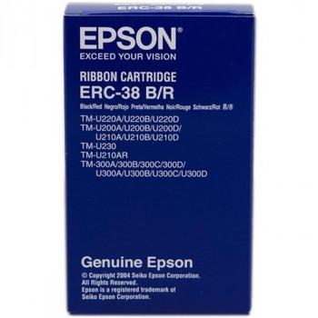 CINTA IMPRESORA TICKETS EPSON ERC-38BR BICOLOR