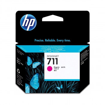 CARTUCHO HWP 711 CZ131A MAGENTA ORIGINAL 29ML