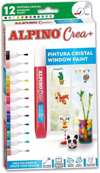 PINTURA ALPINO CREA+ CRYSTAL PAINT 12 UND