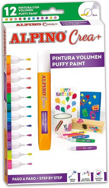 PINTURA CREA+ 3D 12UND
